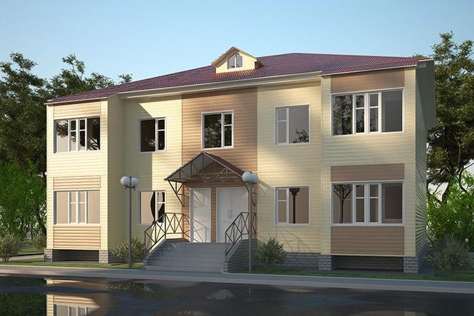 строительство малоэтажных жилых зданий