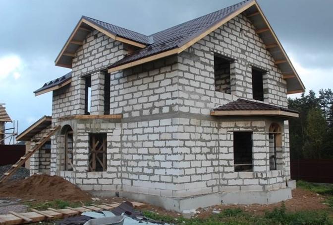 Какая должна быть глубина фундамента для дома?